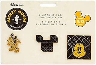 Disney - Mickey Mouse Memories Pin Set - August - Limited Release