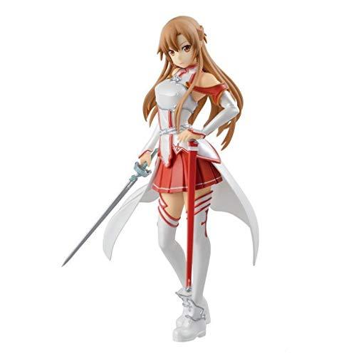 Siyushop Schwert Art Online Asuna Action Figure - Hochdetaillierte Skulptur - Hoch 18CM