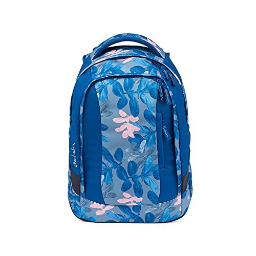 Satch Sleek Schulrucksack - ergonomisch, 24 Liter, extra schlank - Summer Soul - Blau