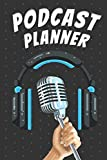 Podcast Planner: Podcast equipment bundle Radio Broadcast Caffeine a Podcast and Create a Profitable Podcasting Business Artists hosts lovers for kids