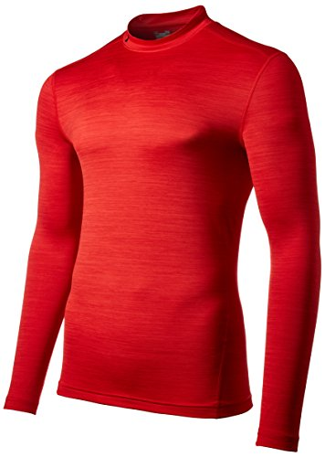 Under Armour Ua Cg Twist Mock-Red//Gph T-Shirt de Protection Thermique Homme, Rouge, FR : XXL (Taille Fabricant : XXL)
