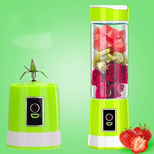 Draagbare blender van borosilicaatglas, geschikt voor kantoren op reis in de open lucht, in de keuken thuis. 500 ml is eenvoudig te gebruiken.
