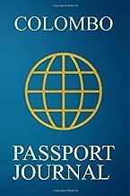 Colombo Passport Journal: Blank Lined Colombo (Sri Lanka) Travel Journal/Notebook/Diary - Great Gift/Present/Souvenir for Travelers