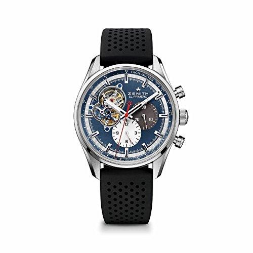 Zenith El Primero Chronomaster 1969 03.2040.4061/52.R576 - Reloj cronógrafo automático para hombre