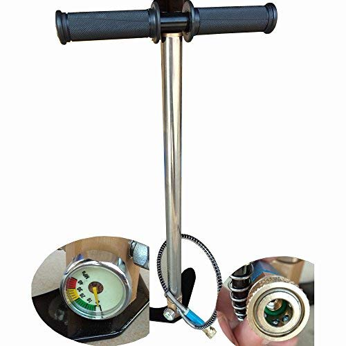 Fy-Light 3-stufiges Steigbügel-Ladegerät PCP-Handpumpe Gasfilter-Messgerät 4500PSI Luftgewehr-Gewehr Siegelfalten HP Pumpe für Paintball HP Flasche