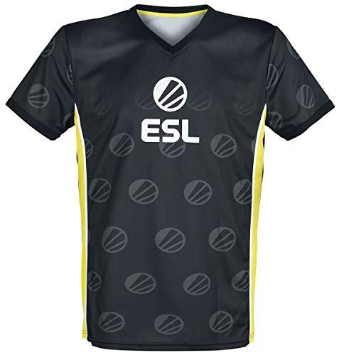 ESL E-Sport Männer T-Shirt schwarz L 100% Polyester Esports, Fan-Merch, Gaming