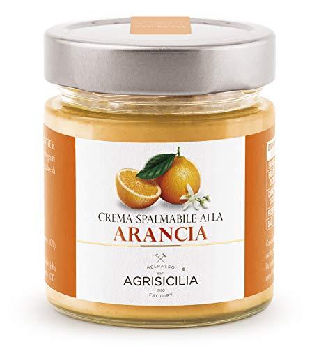 Agrisicilia Crema Spalmabile all'Arancia, 200 Grammi