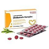 C K   30 comprimidos veganos   Suplemento para el colesterol alto   Extracto de arroz de levadura roja con monacolina K   Sin gluten, sin lactosa   Fabricado en Europa.