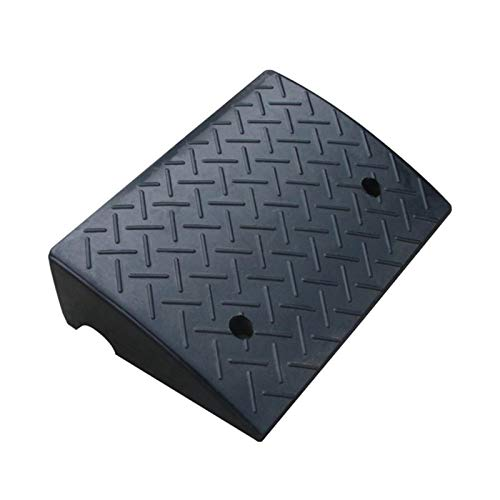 Xzg1-Rampe Autorampsen, Schwarze rutschfeste Multifunktions-Steigstufen-Treppenstufenmatte Gummi-Servicerampsen(Size:50 * 32 * 14CM)