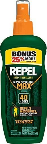 Repel Max 81% OFF 84101 Sportsmen Insect 7.5 Los Angeles Mall Repellent by oz