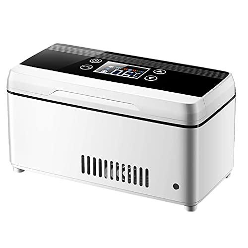 WDAA Refrigerador Portátil para Medicamentos, Refrigerador de Insulina, Utilizado para Refrigeración con Interferón, Insulina Y Otros Medicamentos, Refrigerador Recargable