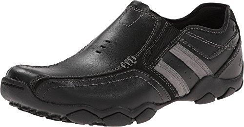 Skechers Diameter Zinroy, Men's Loafers, Black (Black Bbk), 8 UK (42 EU)