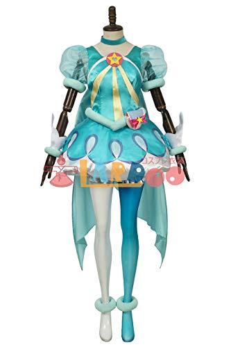 スター☆トゥインクル プリキュア 羽衣ララ キュアミルキー コスプレ衣装