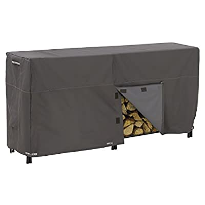 Classic Accessories Ravenna Water-Resistant 8 Foot Log Rack Cover