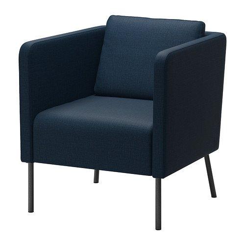 Ikea EKERO -Sessel Skiftebo dunkelblau