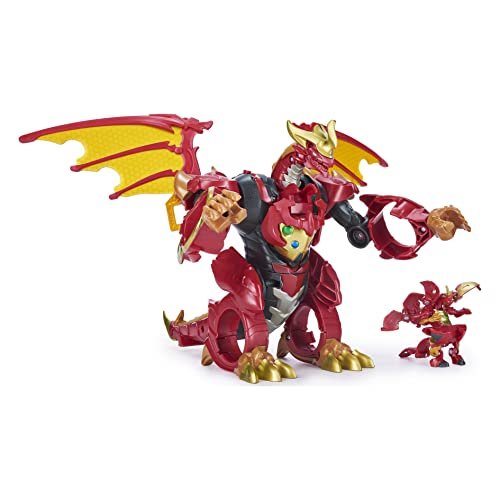 Bakugan, Dragonoid Infinity Transforming Figure with Exclusive Fused Ultra and 10 Baku-Gear Accessories (Toy)
