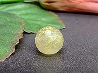 58460 ルチルクォーツ 針水晶 14mm A 1粒売り ブラジル産 天然石 パワーストーン