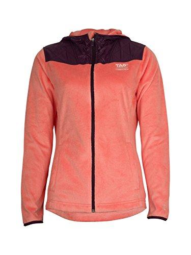 TAO Sportswear Sweat-Shirt W S Cuddly Veste S Salmon Pink/Blackthorn