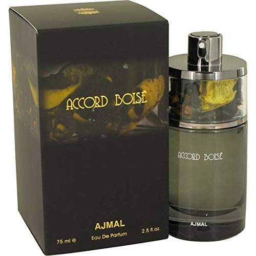 Ajmal Accord Boise by Eau De Parfum Spray 2.5 oz / 75 ML (Men)