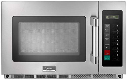 Midea Equipment 2134G1A Commercial Microwave, 2100 Watts, Stainless Steel