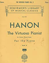 HANON The Virtuoso Pianist in sixty exercises For The Piano - BOOK 3 - Vol. 1073