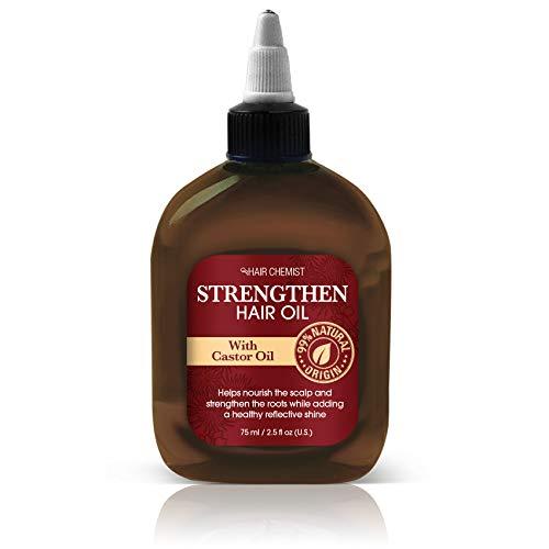 Hair Chemist Renforcer les cheveux huile avec l'huile de ricin 75 ml