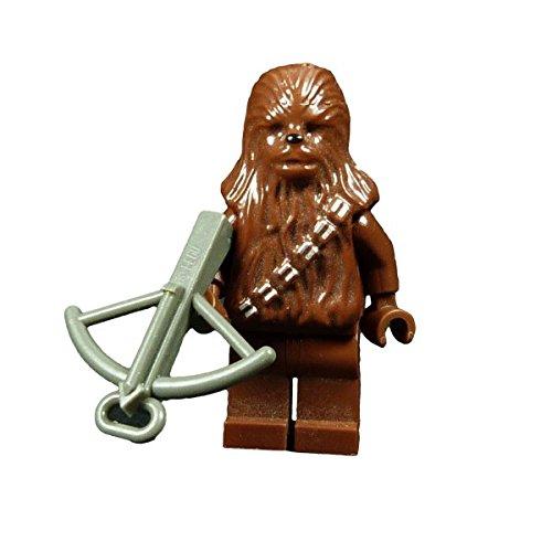 Lego Star Wars Figur Chewbacca wookiee braun mit Armbrust grau 7260 F25