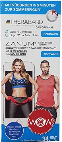 ZANUM Fitness-Set (Theraband mit Fitness-App)