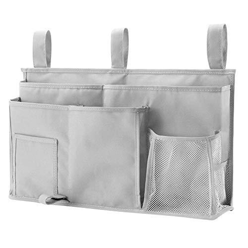 Seawang Duurzame Oxford Bedside Opbergtas Multifunctionele Hangende Organizer Pocket met 8 Zakken voor Auto Slaapzaal Baby Bed Kinderwagen Rolstoel