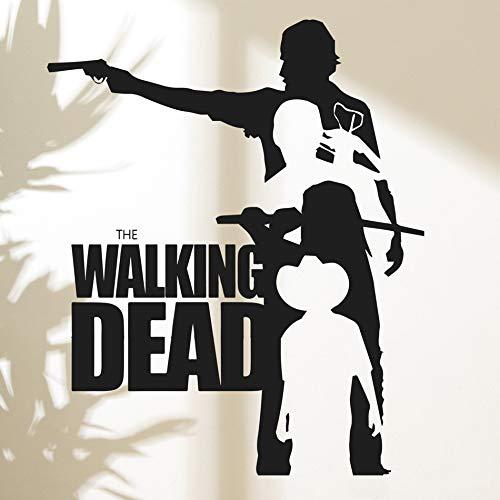 57x69cm Wandtattoo, The Walking Dead Mit Bett Aufkleber Diy Decals Kinderzimmer Aufkleber Geschenk Entfernbare Bilder Poster Bild Kunst Kunstwerk