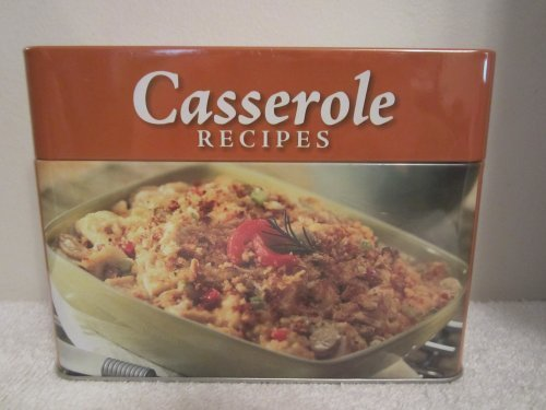 Price comparison product image Collectible Tin with Casserole Recipe Cards by Various (2013-05-04)
