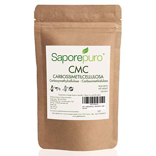 CMC - ideale per gelati, gel, decorazioni e paste - Ottimo gelificante e Stabilizzante - 250 GR