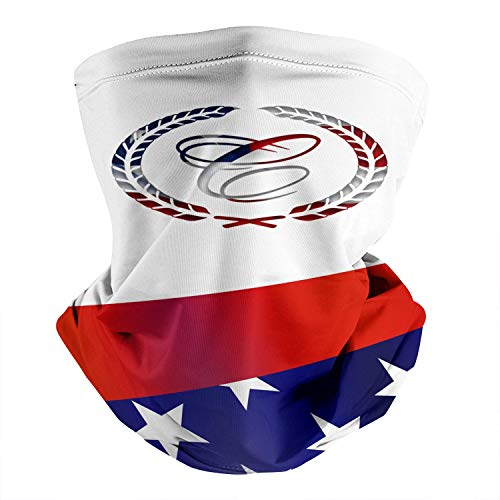 Cobalt-Boats-America-Flag- Bandanas for Men Women Dust Wind UV Sun Face Mask