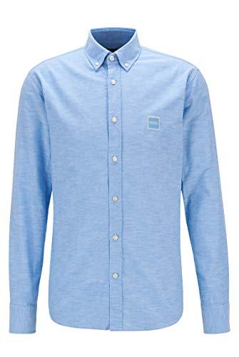 BOSS Herren Mabsoot_1 10195830 01 Shirt, Open Blue460, L EU