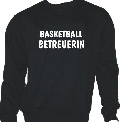 Basketball Betreuerin; Sweatshirt schwarz, Gr. XL