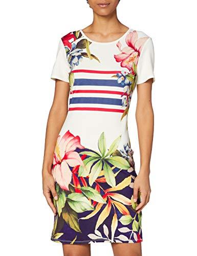 Desigual Damska sukienka Vest_saifo Casual, biały, M