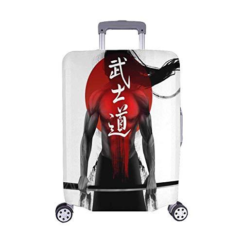 Samurai Muscular Figuras Los viajeros de Bushido del Japón Opción de Viaje Equipaje con Ruedas...