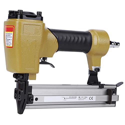 Pneumatische Pistole aus Aluminiumlegierung, Nagelpistolenwerkzeuge, hocheffiziente Nagelsachen für die Innendekoration Holzkistenproduktion Möbelproduktion