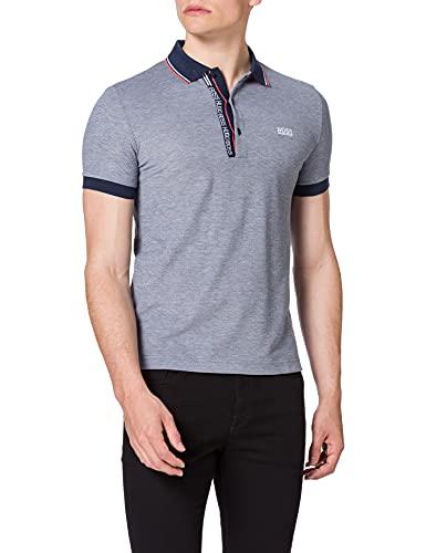 BOSS Paule 4 Camisa de Polo, Navy410, S para Hombre