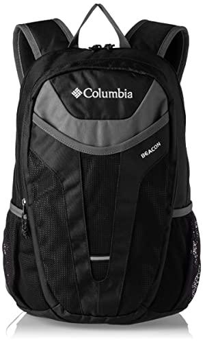 Columbia Beacon, Mochila Ligera 24 l, Negro (Black, Graphite), Talla Única