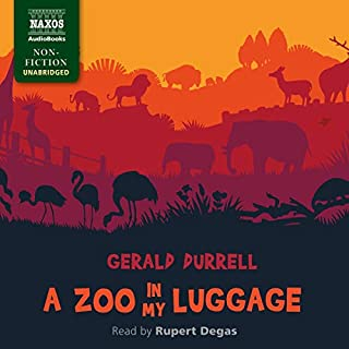 A Zoo in My Luggage audiobook cover art