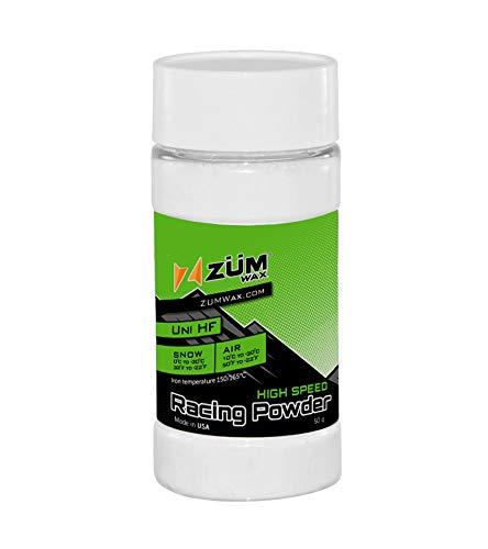 ZUMWax HIGH Fluoro Nano Racing Powder Wax Ski/Snowboard - Best Fluoro in The PUREST Form & Quality!!!