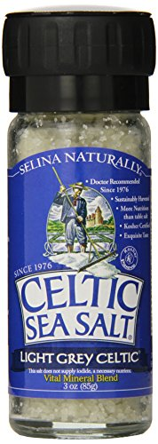 Celtic Sea Salt, Light Grey Grinder, 3 oz