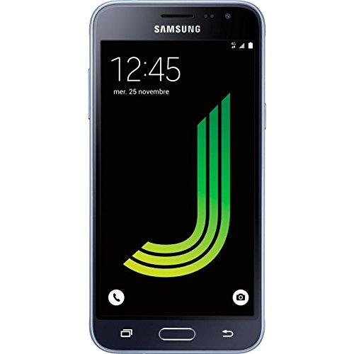 "Samsung Galaxy J3 (2016) SM-J320F 12,7 cm (5"") 1,5 GB 8 GB SIM única 4G Negro 2600 mAh - Smartphone (12,7 cm (5""), 1280 x 720 Pixeles, 1,5 GB, 8 GB, 8 MP, Negro)"