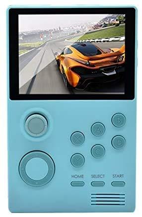 JFZCBXD Console de Jeux Portable Retro IPS écran intégré 3000 + Jeux 32G Jeux 3D Bleu