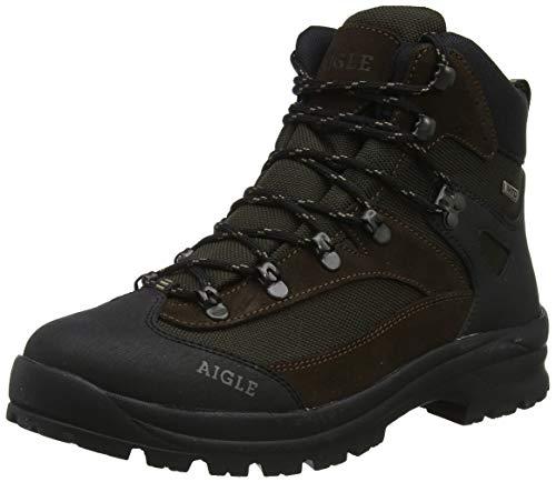 Aigle Unisex Huntshaw MDT Jagdstiefel, Braun (Darkbrown 001), 44 EU