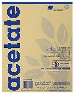 Acetate Film Sheets (Set of 25) Size: 14