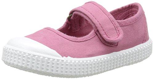 Victoria Mercedes, Zapatillas bajas, cierre de velcro, Unisex niños, Rosa (09 Frambuesa), 28 EU