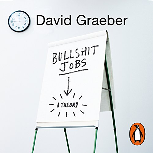 Bullshit Jobs audiobook cover art