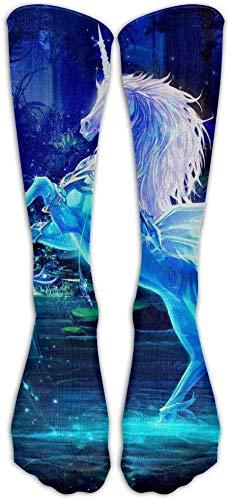 Zeer elastisch, duurzaam, flexibel, schnauzer zomer zandkastelen sok klassieke fancy ontwerp Multi kleurrijke bemanning knie hoge sokken hardlopen voetbal kousen